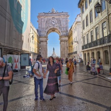 Rua de Plata walking street